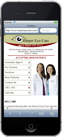 Harper Eye Mobile