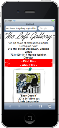 Loft Gallery Mobile