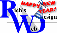 Rich's Web Design - January 2021 Newsletter