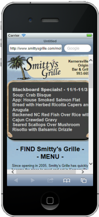 Smitty's Grille Mobile