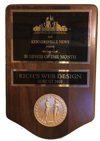 RWD Named as Business of the Month by Kernersville Chamber of Commerce