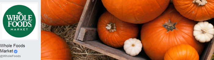 example of a seasonal cover photo facebook business page