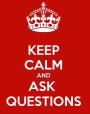 Keep Calm Questions