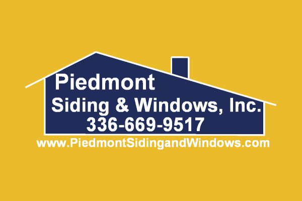Piedmont Siding % Windows