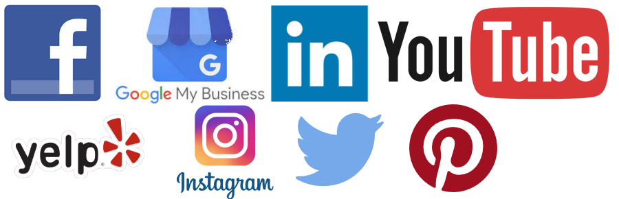 Social Media Channels Icons